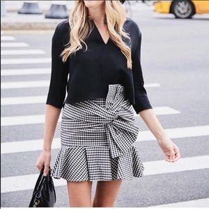 Veronica Beard Picnic Plaid Skirt